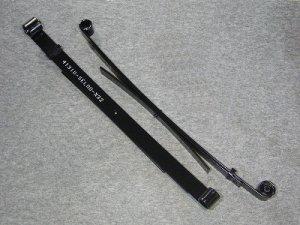 画像1: スーパーローダウンリーフスプリング(50〜60mmダウン)セット キャリイ(DA16T/63T)用