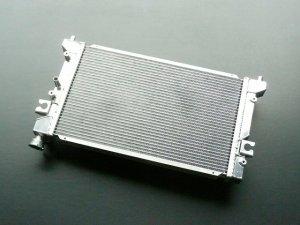 画像2: アルミ2層大容量ラジエター キャリイ(DA16T)用