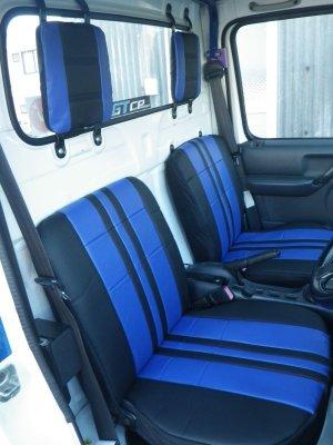 画像1: スポーツシートカバー ハイゼットトラック(S2**P 初期〜平成23年11月まで)用