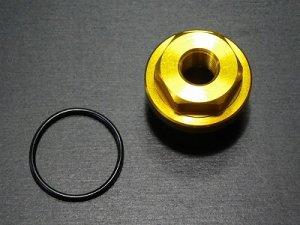 画像1: 油温・油圧センサーアダプター(PT1/8) KTVオイルクーラー用