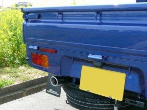 画像2: オールステンレスマフラー タイプS-X ハイゼットトラック(S500P/S510P)用