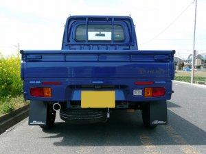 画像3: オールステンレスマフラー タイプS-X ハイゼットトラック(S500P/S510P)用