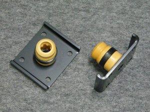 画像1: リヤソフトバンプラバーセット キャリイ(DA16T/63T)用