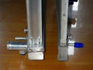 画像2: アルミ2層大容量ラジエター キャリイ(DA63T)A/T車用