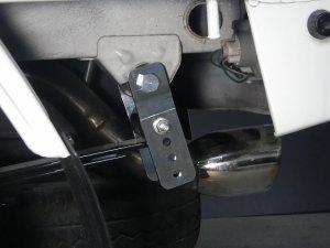 画像2: 車高調整式シャックル ハイゼットトラック(S5**P/2**P)用