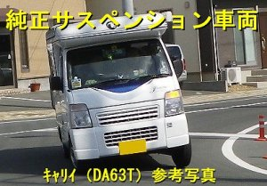 画像2: サスキットforキャンパー 車高調タイプ キャリイ(DA63T)/スクラムトラック(DG63T)用