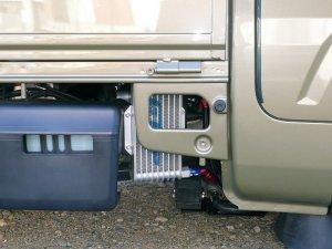画像2: オイルクーラーキット ハイゼットトラック(S500P/S510P)用